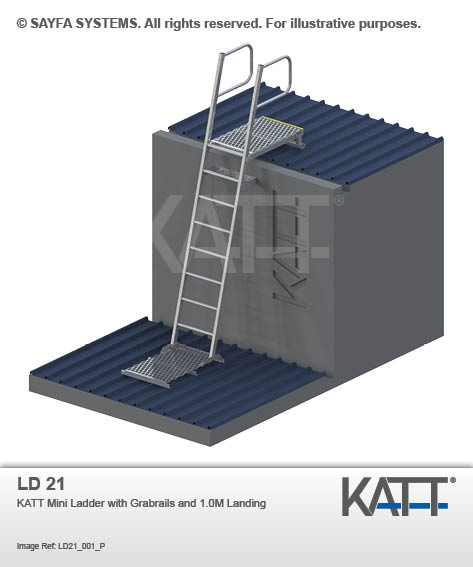 Roof Access Ladders Australian Height Safety Services