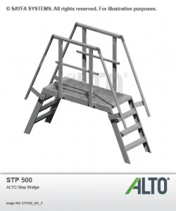 Alto Aluminium Step Bridge (STP 500)