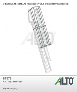 Alto Step Ladder Cage (ST 572)