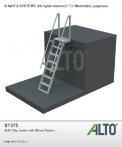 Alto Step Ladder with Platform (ST 575)