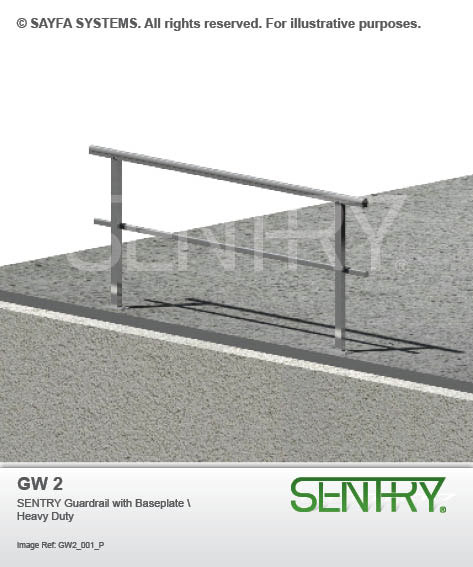 Sentry Guardrail with Baseplate (GW 2)