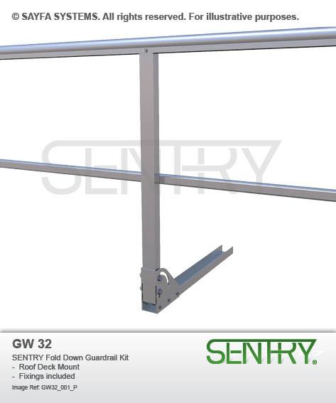 Sentry Fold Down Guardrail Kit (GW 32)