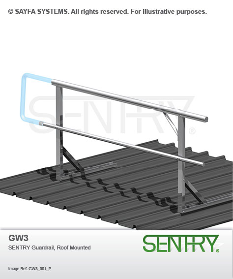 Sentry Guardrail Roof Mounted (GW3)