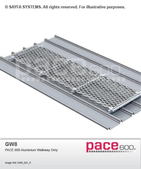 Pace 600 Aluminium Walkway (GW 8)