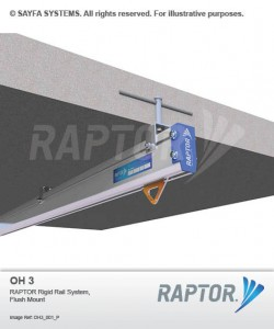 Sayfa Raptor - Rigid Rail System Flush Mount (OH 3).