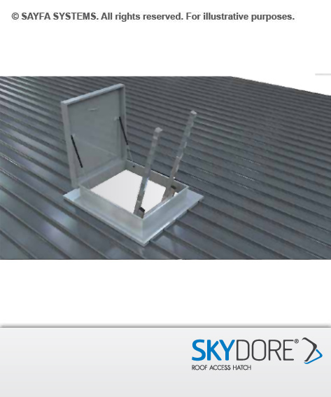 Sayfa Skydore Roof Access Hatch - Hinged