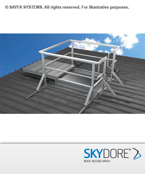 Sayfa Skydore Roof Access Hatch - Sliding