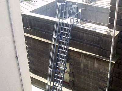 Roof Access Ladder.