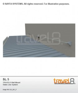 Sayfa Travel8 - Wall Mount Static Line System (SL 5).