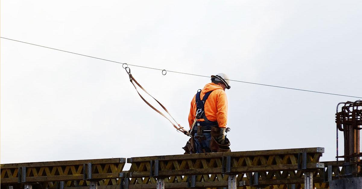 Using Work Restraint & Fall Arrest Systems