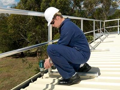 Roof Safety Guardrails Melbourne Sydney Brisbane Roof
