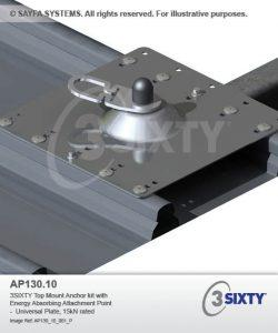 Safya Top Mount Roof Anchor Point