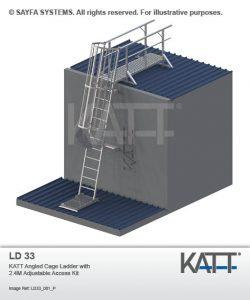 Roof Access Ladder Systems