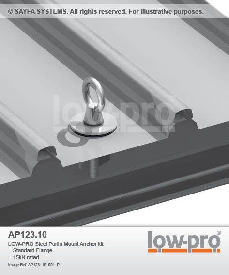 Low Pro Roof Anchor Point System