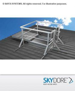 Skydore Roof Access Hatch Installation